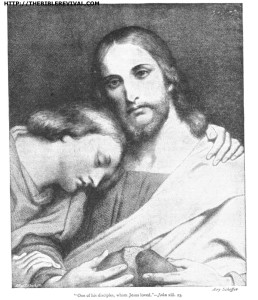 john 13 - 23 one of his disciples, whom jesus loved