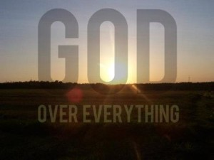 god-over-everything