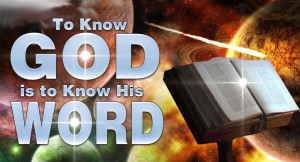 to-know-god-is-to-know-his-word